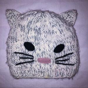 Delia's Knit Cat Beanie